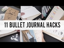 11 BULLET JOURNAL HACKS / D...