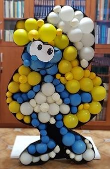 Balonowa Smerfetka 150 cm