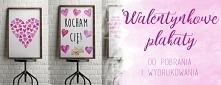 Walentynkowe plakaty za dar...