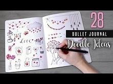 Bullet Journal DOODLES | 28 Doodle Ideas for Valentines day