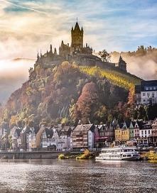 Zamek Cochem w Niemczech
