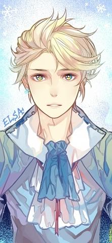 Elsa w wersji male