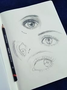 Eye study #2 Sprawdzam różn...