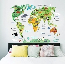 Mapa zwierząt, idealne dla dzieci :)