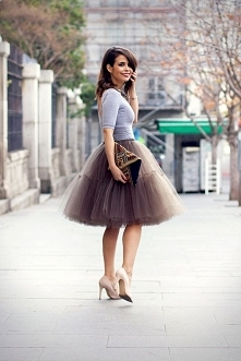 Hej, strasznie podobają mi się takie spódnice.. myślicie ze to dobra opcja na wesele? do czego to ubrać i czy do każdej figury by pasowało?