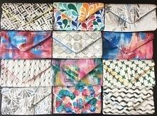 Torebki, kopertówki ręcznie malowane i szyte  FB: toyza