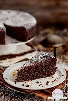 Puszyste ciasto czekoladowo...