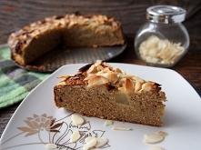 Ciasto migdałowo gruszkowe bez glutenu