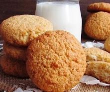 Ciasteczka kokosowo - owsiane