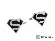 spinki do mankietów superman