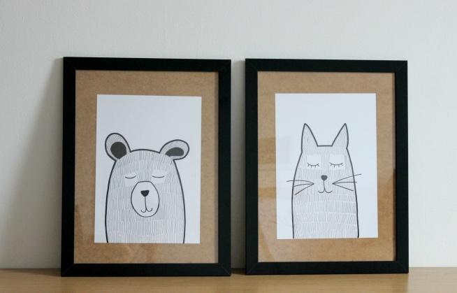 Pomysł na własnoręcznie zrobione plakaty :) Najlepsze do pokoju dziecięcego ale w salonie tez znajdą swoje miejsce :D