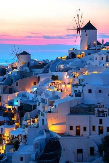Grecja. Santorini