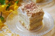 Ciasto Kinder Bueno z kremem wafelkowym