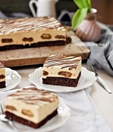 Ciasto Puszek Toffi z Krówką. Przepis po kliknięciu w zdjęcie.
