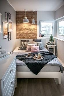 jak urządzić mała sypialnię :)