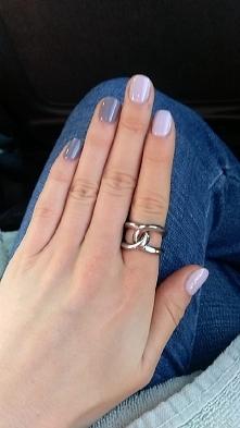 Hybrydy na krótkich paznokciach :)