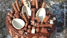 Tort kinder- mega czekoladowa rozkosz