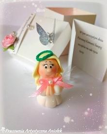 Aniołeczek w pudełku zamias...