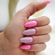 Wiosenna stylizacja paznokci z użyciem lakierów Charbonne dostępnych w sklepie @gabriellenails.pl