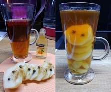 Herbatka z prądem i gruszkami. Polecam :)