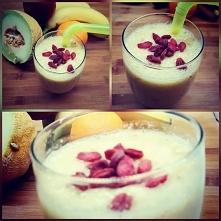 koktajl owocowy - bomba witaminowa :)  Jeśli chcesz zmienić swoje nawyki żywi...