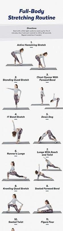 Jeżeli będziemy regularnie praktykować ćwiczenia rozciągające, zaobserwujemy szereg korzystnych zmian. Stretching bowiem: ujędrnia sylwetkę, nie generując nadmiernie tkanki mięś...