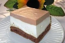 Śmietankowo-czekoladowy sernik na zimno-najlepszy :)