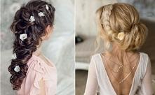 Wraz z wiosną to i fryzury na Ślub ;)