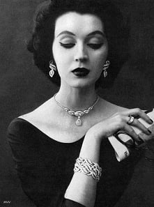 50s #vintage #moda #mqkeup