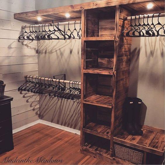 wood/wardrobe