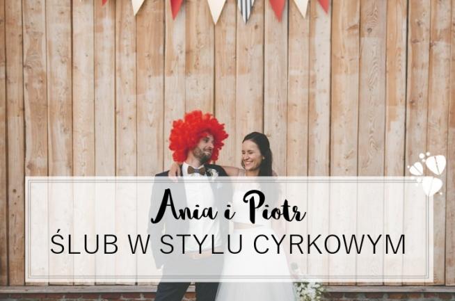 Reportaż z cyrkowego ślubu Ani i Piotra - na blogu ślubnym Madame Allure :)  fot. LMFOTO