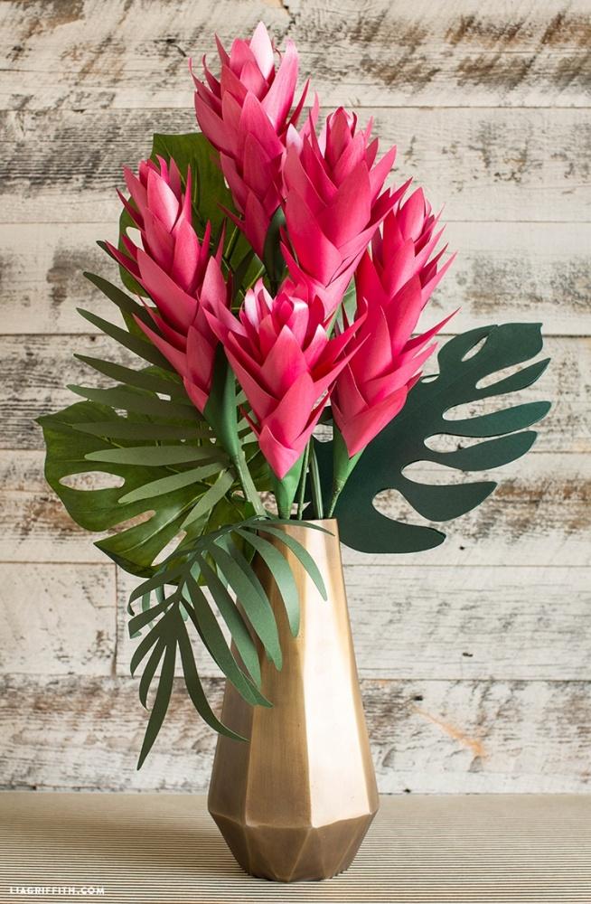 tropikalne kwiaty z papieru na zr243b to sama zszywkapl