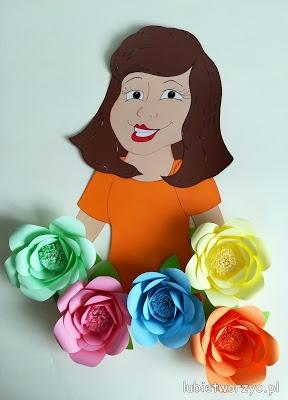 Dekoracja z okazji Dnia Kobiet (DIY)
