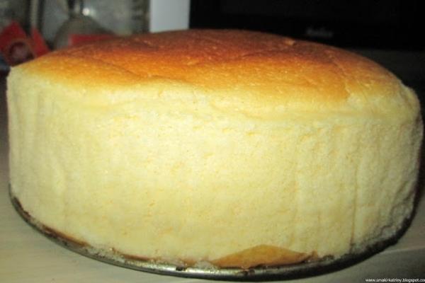 Sernik japoński-bajecznie lekki, piankowy, puszysty-najlepszy :)  Japanese  cheesecake