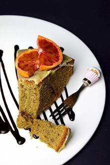 Proste ciasto pomarańczowe z mąki razowej. Przepis po kliknięciu w zdjęcie.