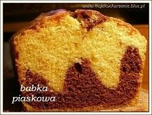 Babka piaskowa Składniki : ...