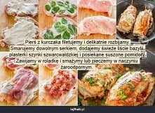 roladki z kurczaka - Pierś ...