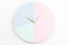 Chcesz zrobić samemu taki zegar? Nic trudnego. Wystarczą trzy proste kroki, instrukcję sprawdź na blogu Minimalistic Girl (wystarczy kliknąć w obrazek) :)