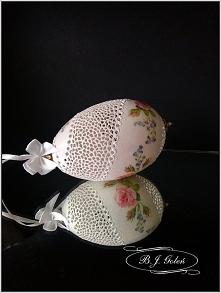 Egg art - Ażurowa pisanka r...