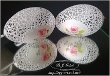 Ażurowa pisanka - Egg art -...