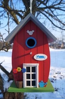 Domek dla ptakow