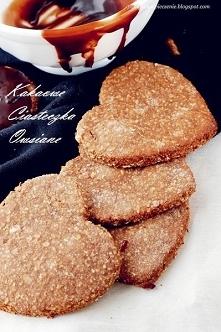 Kakaowe ciasteczka owsiane