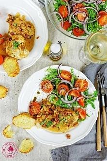 Kurczak z suszonymi pomidorami - Wypieki Beaty