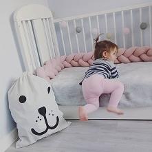 Ochraniacze do łóżeczka <3