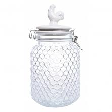 Pojemnik kuchenny szklany z kurką