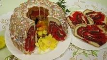 Kolorowa babka Wielkanocna ...