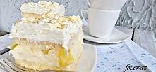 Ciasto cytrynowo - ananasowe Zewy  biszkopt jajka6szt dodatkowo mąka pszenna4łyżki mąka ziemniaczana2łyżki proszek do pieczenia1łyżeczka cukier3/4szk ekstrakt waniliowy1ły...