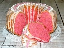 Cukierkowa babka majonezowa na Dzień Kobiet  Składniki na silikonową formę z ...