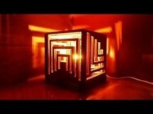 Lampa z kartonu