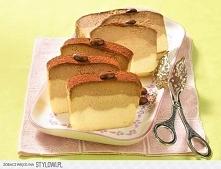 Sernik Caffe Latte  3 łyżeczki cappuccino w proszku 1 łyżeczka kakao 800 g tw...